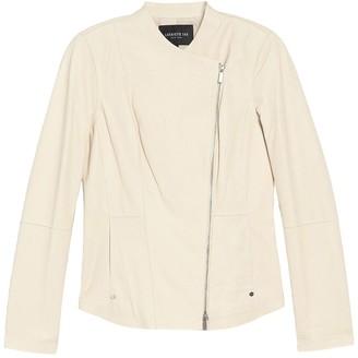 Lafayette 148 New York Aimes Leather Jacket