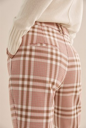 Country Road Double Cloth Check Pant