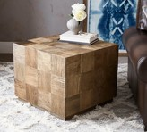 Pottery Barn Patchwork Reclaimed Wood End Table