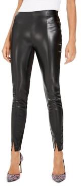 Bar III Faux-Leather Leggings, Created for Macy's