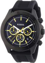 Fossil Men's Retro Traveler CH2870 Silicone Quartz Watch