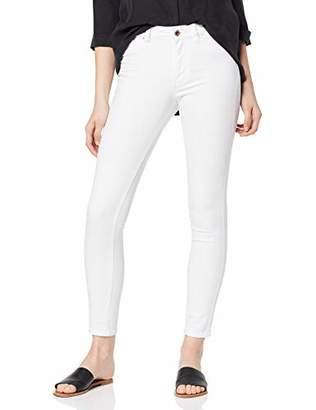 Tom Tailor Women's NELA Slim Jeans, (White Denim 10101)