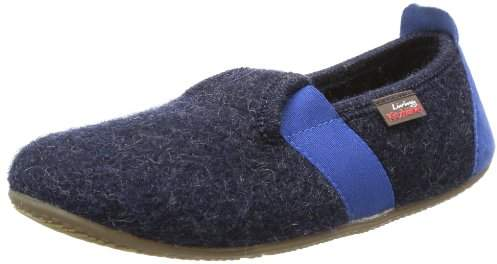 Living Kitzbühel T-Modell Fußball Slippers Unisex-Child Blue Size: 23
