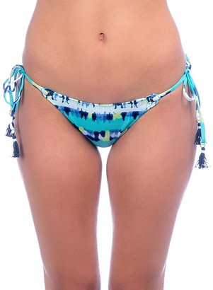 Sperry Women's Dye Stripe Tie Side Bikini Bottom