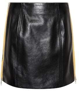 Givenchy Leather miniskirt