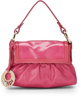 Fendi Pink Patent Leather Chef Mini
