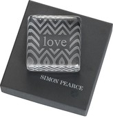 Simon Pearce Love Paperweight