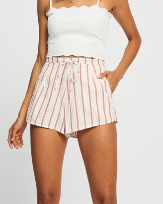Cotton On Women's Multi High-Waisted - Becki Shorts - Size 6 at The Iconic