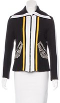 Carven Knit Collared Jacket w/ Tags