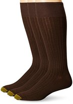 Gold Toe Men's Canterbury Over-the-Calf Dress Socks (Three-Pack)