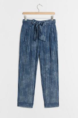 Maeve Avryl Bleached Slim Trousers