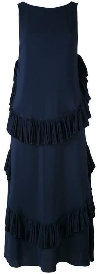 No.21 ruffled maxi dress