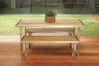 R & V Living Plantation Dining Table