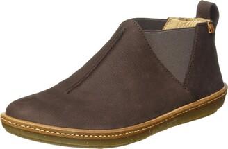 El Naturalista Women's N5315 Pleasant Brown/Coral Ankle Boot 6.5 UK