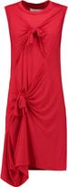 Marques Almeida Marques' Almeida Knotted stretch-jersey dress