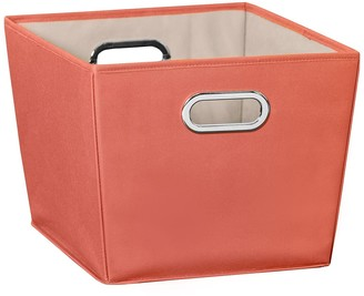Honey-Can-Do Orange Medium Storage Bin