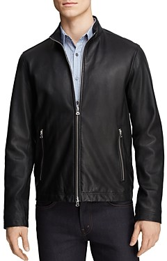 Theory Kelleher Morvek L Leather Jacket