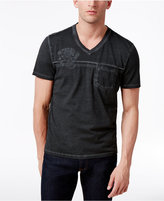 INC International Concepts Men's Embroidered T-Shirt, Created for Macy's