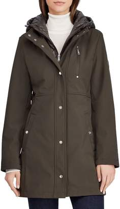 Lauren Ralph Lauren THE COAT EDIT Quilted Hooded Jacket