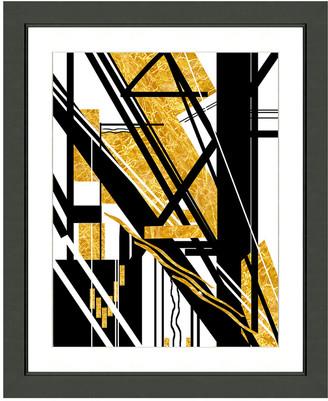 Vintage Print Gallery Avant-Garde Geometric Abstraction Ii Framed Graphic Art