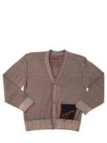 BOB Strollers Embroidered Merino Wool Cardigan