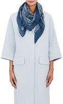 soeur Women's Twiggy Bandana-Print Wool Scarf