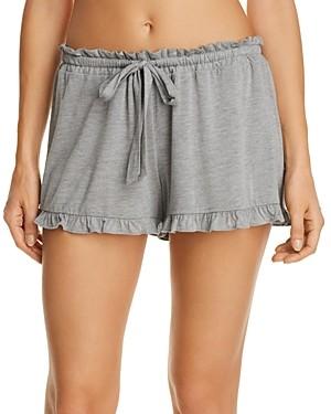 Josie Heathered Ruffle Sleep Shorts