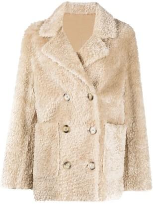 Sylvie Schimmel Reversible Shearling Coat