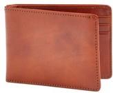 Bosca Men's Small Bifold Wallet - Brown