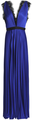 Catherine Deane Griffin Satin Plisse Gown