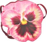 Christopher Kane Pink Pansy Clutch