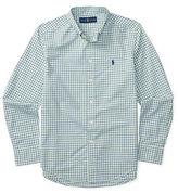 Ralph Lauren Boys 8-20 Long Sleeve Plaid Cotton Shirt