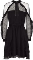 AllSaints Ivy Pleated Dress