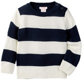 Joe Fresh Stripe Sweater (Baby Boys)