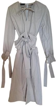 Eudon Choi Beige Cotton Dresses