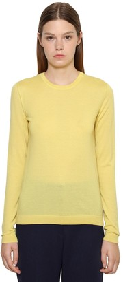 Ralph Lauren Pure Cashmere Knit Crewneck Sweater
