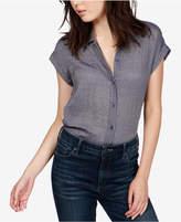 Lucky Brand Button-Down Short-Sleeve Shirt