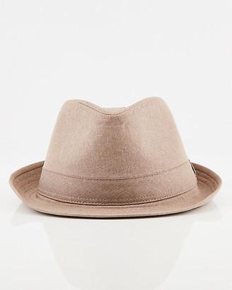 Le Château Mechanical Stretch Fedora Hat