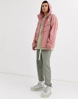 Asos Design ASOS DESIGN hooded jacket in pink
