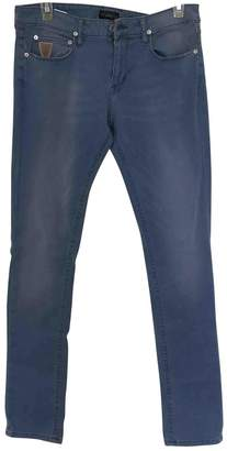 April 77 Blue Cotton - elasthane Jeans for Women