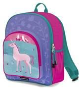 Crocodile Creek Eco Kids Unicorn Pink School Backpack.