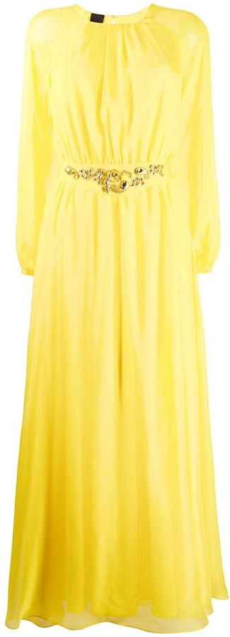 Pinko Embellished Maxi Dress