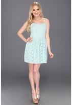 BB Dakota Patton Dress (Moonstone Blue) - Apparel