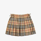 Burberry Pearly Skirt (Little Kids/Big Kids) (Archive Beige IP Check) Girl's Skirt