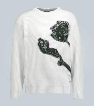 Jacquemus Le Pull Artichaut cotton sweater
