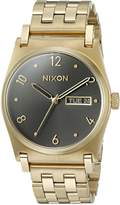 Nixon Women's A954510-00 Jane Analog Display Japanese Quartz Gold Watch