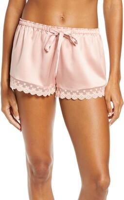 Flora Nikrooz Victoria Satin Lounge Shorts