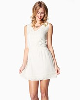 Charming charlie Morning Breeze Embroidered Dress