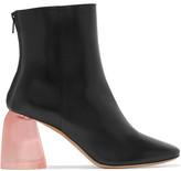 Ellery Sacred Leather Ankle Boots - Black
