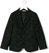 Dolce & Gabbana printed blazer - kids - Cotton/Polyester/Cupro/Viscose - 8 yrs